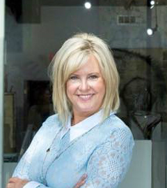 Donna Krueger, owner of dk Gallery in Marietta, Georgia.