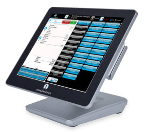 POS system left facing
