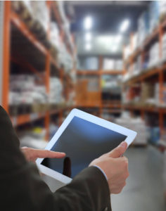 tablet pos in warehouse